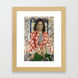 Yael Approaches the General Framed Art Print