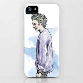 Lilac Haz iPhone Case