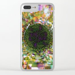 Plier - Multiplied views P of Alphabet collection Clear iPhone Case