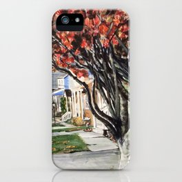 Wednesday Morning on Riale iPhone Case