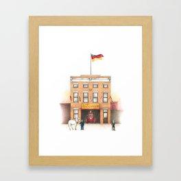 895 Broadway Framed Art Print