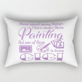 Painting Gigi Rectangular Pillow