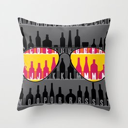 GUESS THE NAMES... ;)  Throw Pillow