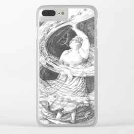dancing with myself Clear iPhone Case