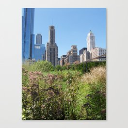 City Wilderness Canvas Print
