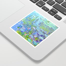 Water Lilies monet : Nympheas Sticker