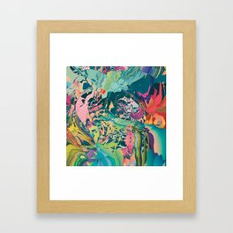 Treasures of the jungle Framed Art Print