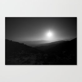 Joshua Tree Lookout Canvas Print