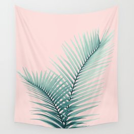 Intertwined - Palm Leaves in Love #2 #tropical #decor #art #society6 Wall Tapestry