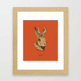 The Jackalope Framed Art Print
