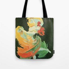 La Loie Fuller Tote Bag