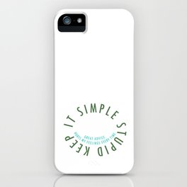 K.I.S.S. iPhone Case