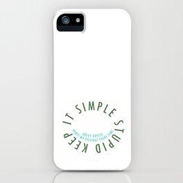 K.I.S.S. iPhone Case