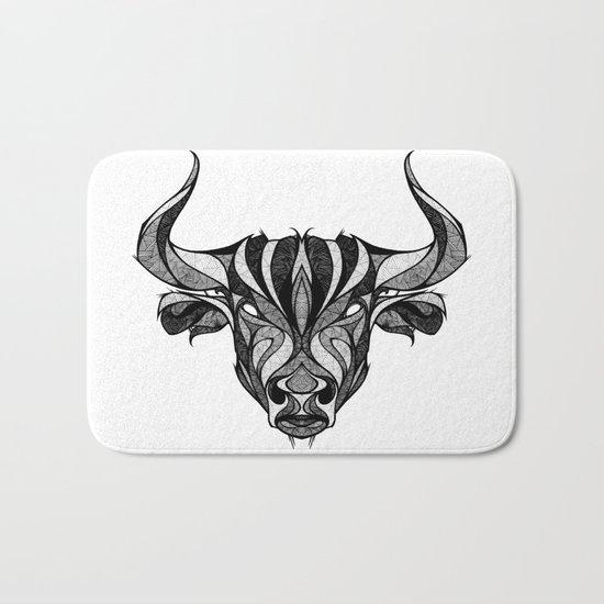 Signs of the Zodiac - Taurus Bath Mat