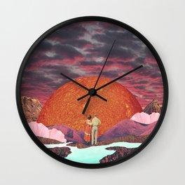Love times infinity Wall Clock