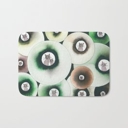 Lolo Whimsical Cats Bath Mat