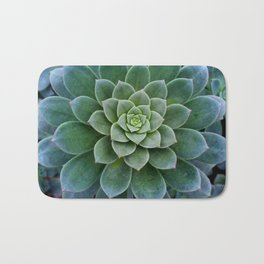 Shades of Succulent Green Bath Mat