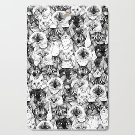 just cats Cutting Board