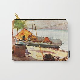 Vintage Stresa Italy Travel Carry-All Pouch