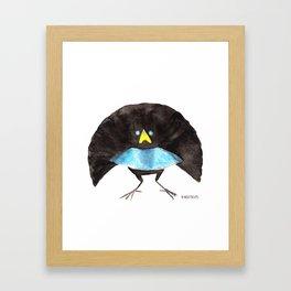 Bird no. 360: Hunky Vogelkop Framed Art Print