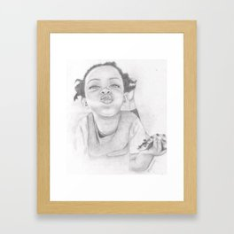 Nuffin  Framed Art Print