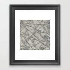 Sparkle Net Framed Art Print
