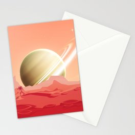 Life on the Titan Stationery Cards