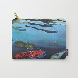 Shimmering Lake Carry-All Pouch