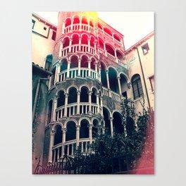 Scala Contarini del Bovolo venice. Canvas Print