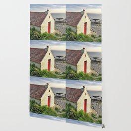 Irish cottage, Ireland Wallpaper