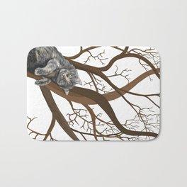 Tree Cat Bath Mat