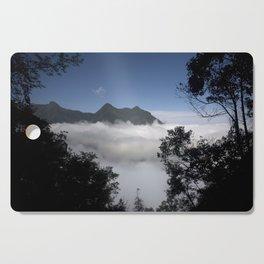 Mountain clouds Cutting Board