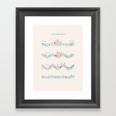Nautical Notation Framed Art Print