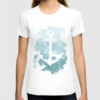 nautical T-shirts featuring Nautical Watercolor by joeyj