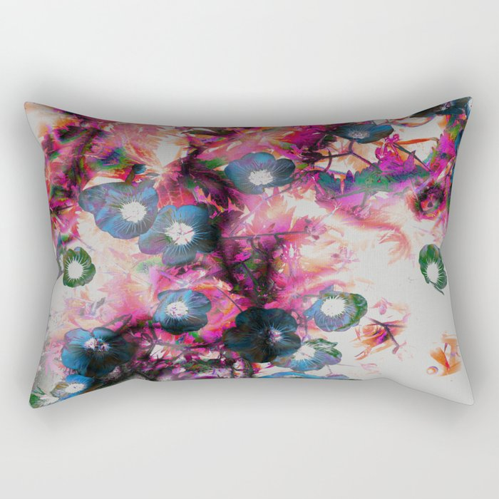 Twisted Ephemera Rectangular Pillow