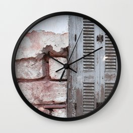 Walls and Windows Wall Clock