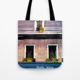 Signs: Jardin Nelson Tote Bag