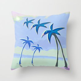 Mutant Scenery Sequence 2 Throw Pillow