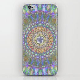 Crystal Mandala iPhone Skin