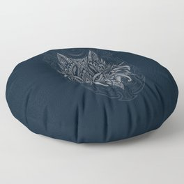Wolf of North Floor Pillow