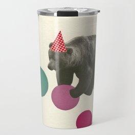 Birthday Bear Travel Mug