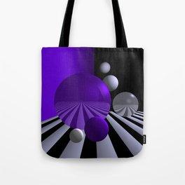 go violet -04- Tote Bag