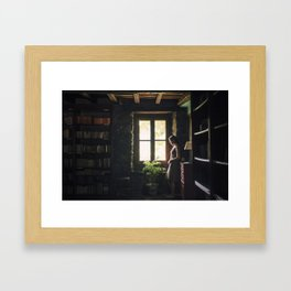 Qué es hogar para ti? Framed Art Print