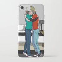 cryaotic iPhone & iPod Cases featuring Please don't cry by SofusGirl