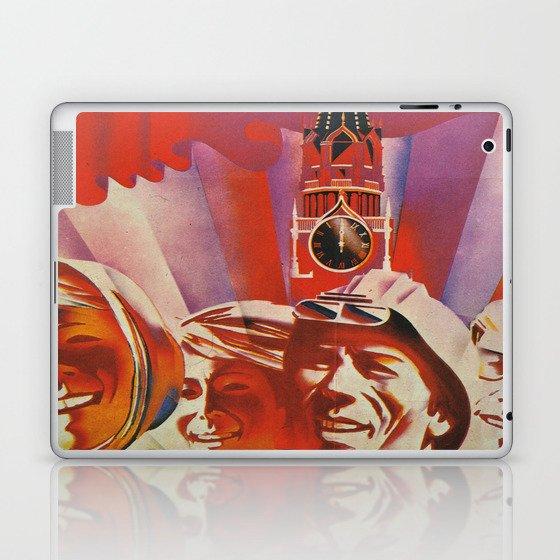 Labour communist propaganda in soviet union cccp sssr Laptop & iPad Skin