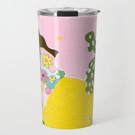Retro Life Travel Mug