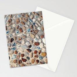 Pebble Rock Flooring II Stationery Cards