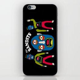 The Bandits iPhone Skin