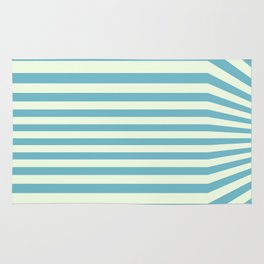 Sea around corners Rug