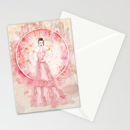 Timeless beauty Stationery Cards